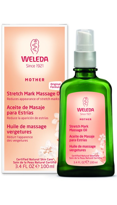 Weleda Stretch Mark Massage Oil, 3.4 Fl Oz