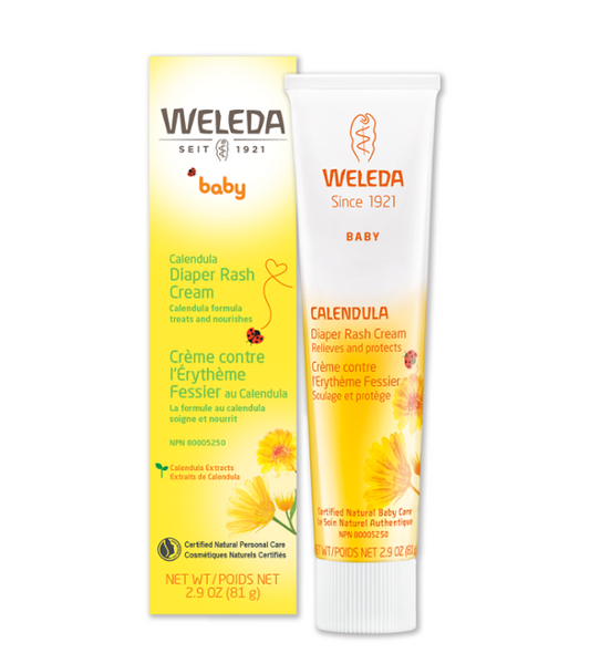 Calendula Diaper Rash Cream 2.8 fl oz