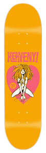 "0003 Brendan Keaveny Heartbreaker Deck 8.5 x 32"" also in 8.25"" x 31.5"""