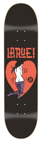 "0004 Chris Larue Heartbreaker Deck 8.5"" x 32"" or 8.25"" x 31.5"""