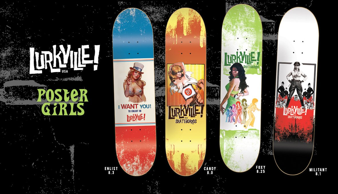 Lurkville Skateboards