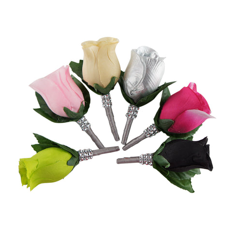 Boutonniere-Pick rosebud color