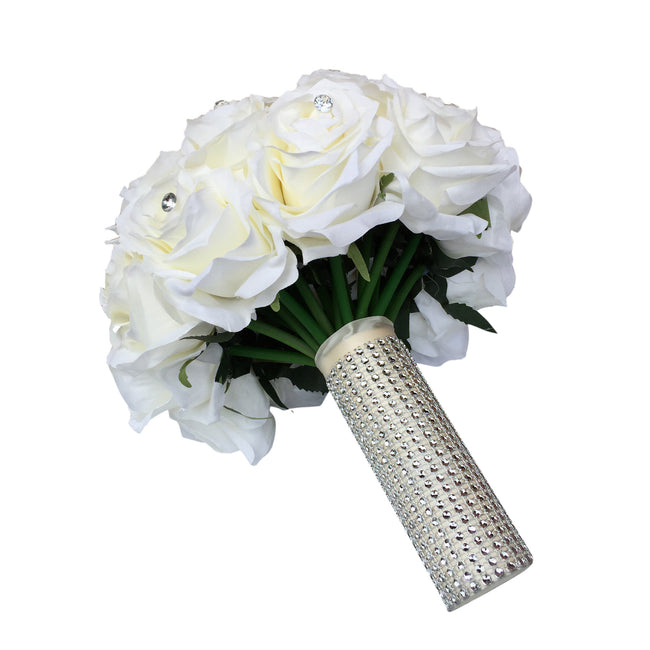 Bridal Bouquet-Pick ribbon color - Angel Isabella