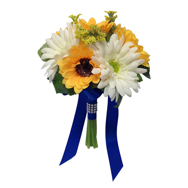 "7.5"" Bouquet-Sunflowers and Daisy - Angel Isabella"