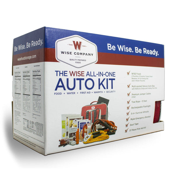 Emergency & Survival Food - Vehicle Emergency Survival Kit All  In One Auto Kit