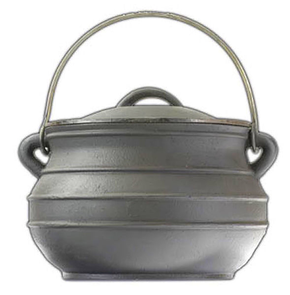 Flat Bottom Potjie Plats - Cast Iron Potjie Flat Bottom 7 Qt Bean Pot Pure Cast Iron Dutch Oven