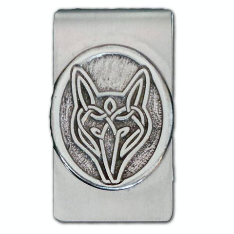 Jewelry & Adornment - Celtic Strength Wolf Money Clip