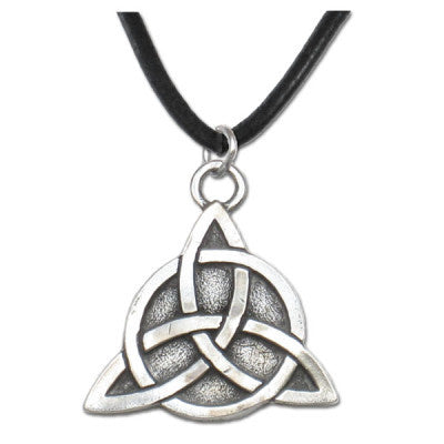Jewelry & Adornment - Trinity Knot Triquetra Necklace Pendant Lead Free Pewter Pagan Druids