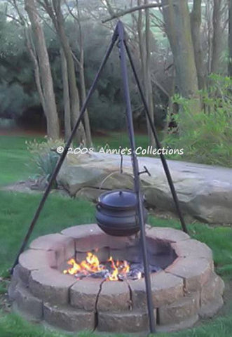 Outdoor Cooking - Adjustable Heavy Duty Tripod