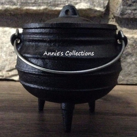 Potjie Pots - Cast Iron Midi Potjie Pot Cauldron