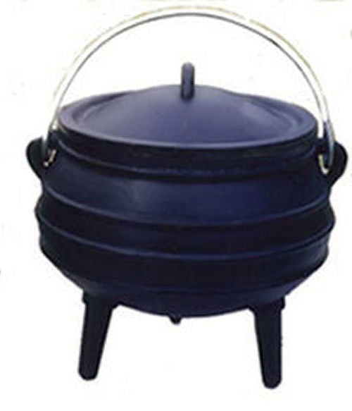Potjie Pots - Cauldron Cast Iron Potjie Pot 2 Qt Outdoor Survival