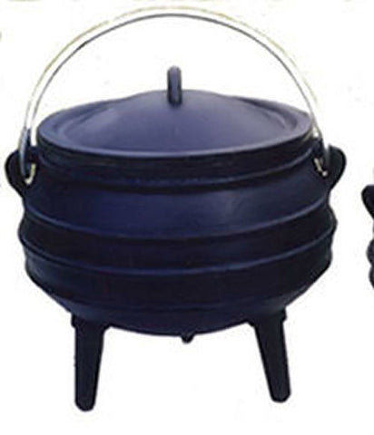 Potjie Pots - Cauldron Cast Iron Sage Smudge Pot Bean Pot