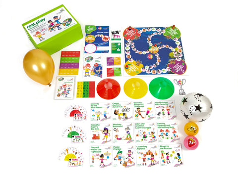 Club resources - 5 real play home packs