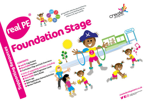 real PE Bundle - EYFS/Key Stage 1 packs