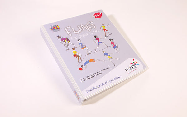 FUNS Teacher's Folder and interactive, inclusive DVD