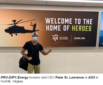 PRO-DIP® Energy Supplying Premier Military Distributor ADS