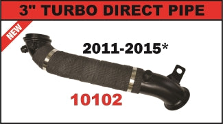 "Flo Pro 3"" Turbo Down Pipe (2011-2015) - Chevy LML OSTS 