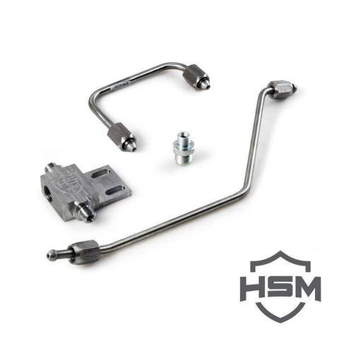 H&S Motorsports Dual High Pressure Fuel Line Assembly (2011-2016) - Chevy LML OSTS | OSTSAZ Dual Fueler Kit