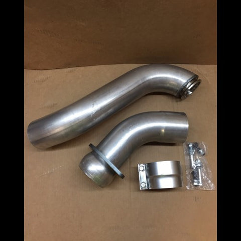 "Absolute Performance 4"" Downpipe (2015-2016) - Ford 6.7L OSTS 