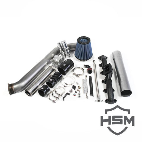 H&S Motorsports Single Turbo Kit Without Turbo (2007-2009) - Dodge 6.7L OSTS | OSTSAZ Turbos