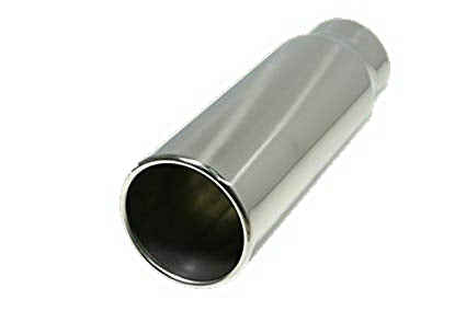 Flo Pro Polished Stainless Steel Pencil Tip OSTS | OSTSAZ Exhaust Tip