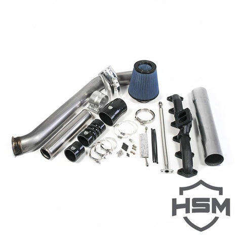 H&S Motorsports Single Turbo Kit Without Turbo (2003-2007) - Dodge 5.9L OSTS | OSTSAZ Turbos