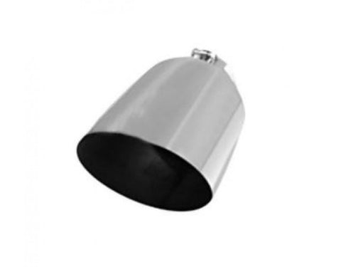 Flo Pro Polished Stainless Steel Angle Cut Bolt On Tip OSTS | OSTSAZ Exhaust Tip