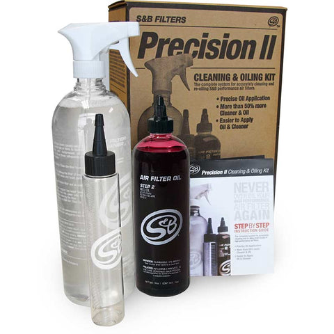 S&B Filters Precision II Cleaning & Oil Service Kit OSTS | OSTSAZ Air Intake Systems