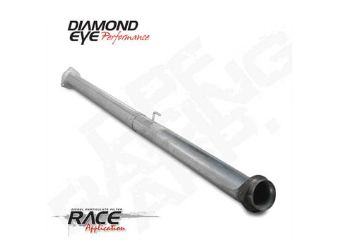 "Diamond Eye 4"" Race Pipe (2011-2017) - Ford 6.7L OSTS 