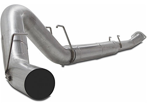 "Jamo Performance Exhaust F505DB-MD - 2011-2017 Ford 5"" Downpipe back Muffler Delete Kit OSTS 