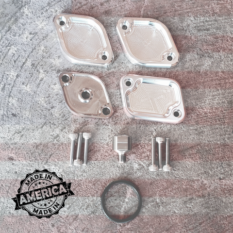 Made In America EGR Block Off Kit (2011-Current) - Ford 6.7L OSTS | OSTSAZ EGR