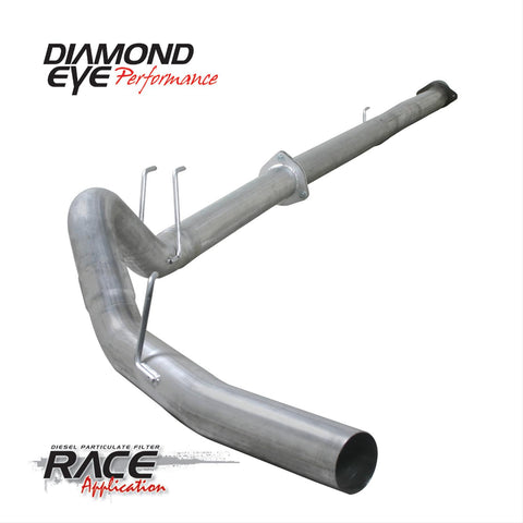 "Diamond Eye 4"" Downpipe Back Exhaust (2011-2017) -Ford 6.7L OSTS 