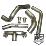 H&S Motorsports Turbo Kit Without Turbo (2017-Current) - Ford 6.7L OSTS | OSTSAZ Turbos