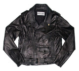 Seduce and Destroy leather moto jacket