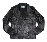 Talk Dirty To Me leather moto jacket