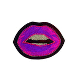 Lips Iron on Patch