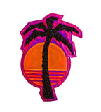 SUNSET PALM IRON ON PATCH