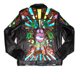Sunset Strip Tease leather moto jacket