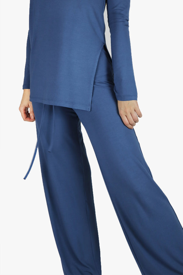Comfy Pant in Steel Blue