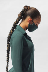 Comfy Mask in Forest Green