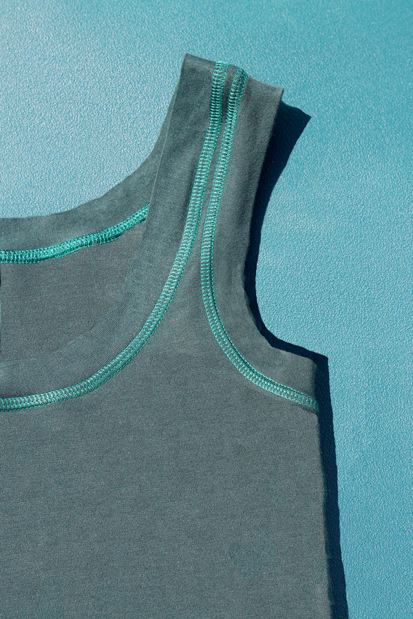 Comfy Tank in Forest Green
