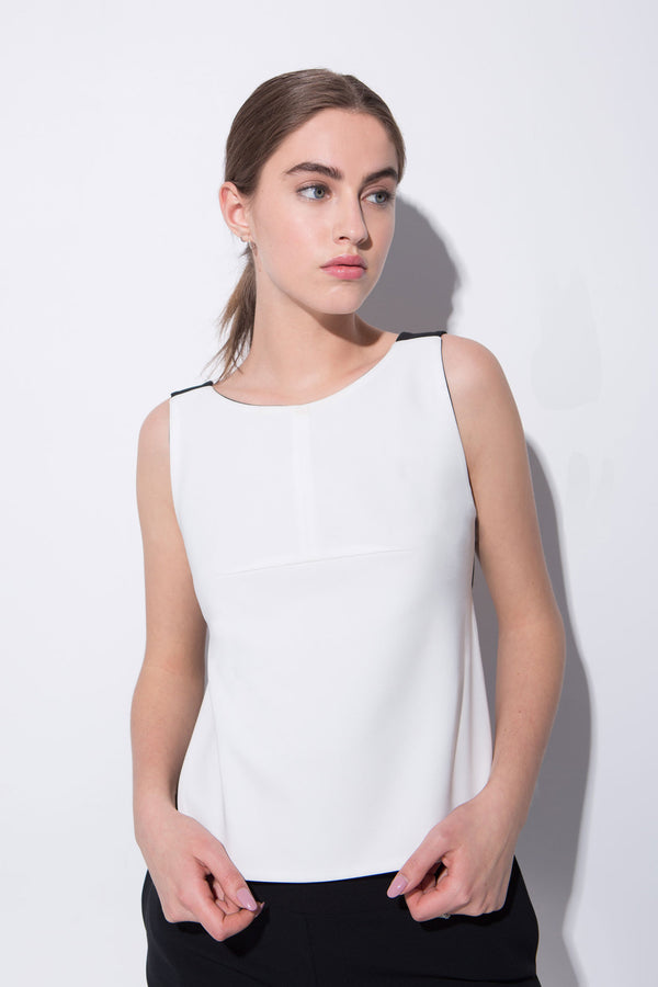 White Bailey Reversible Top