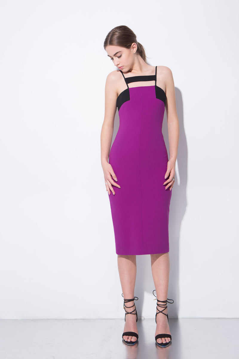 Fuchsia Adelaide Dress - M
