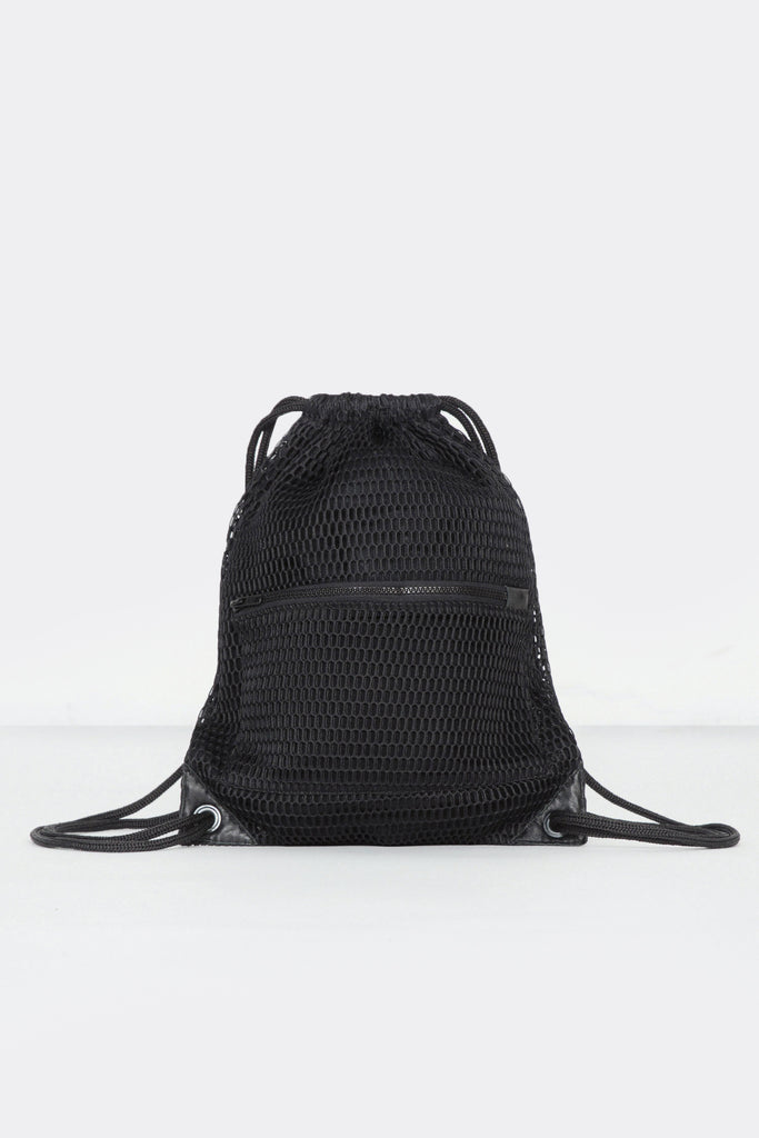 Lined Mesh Backpack