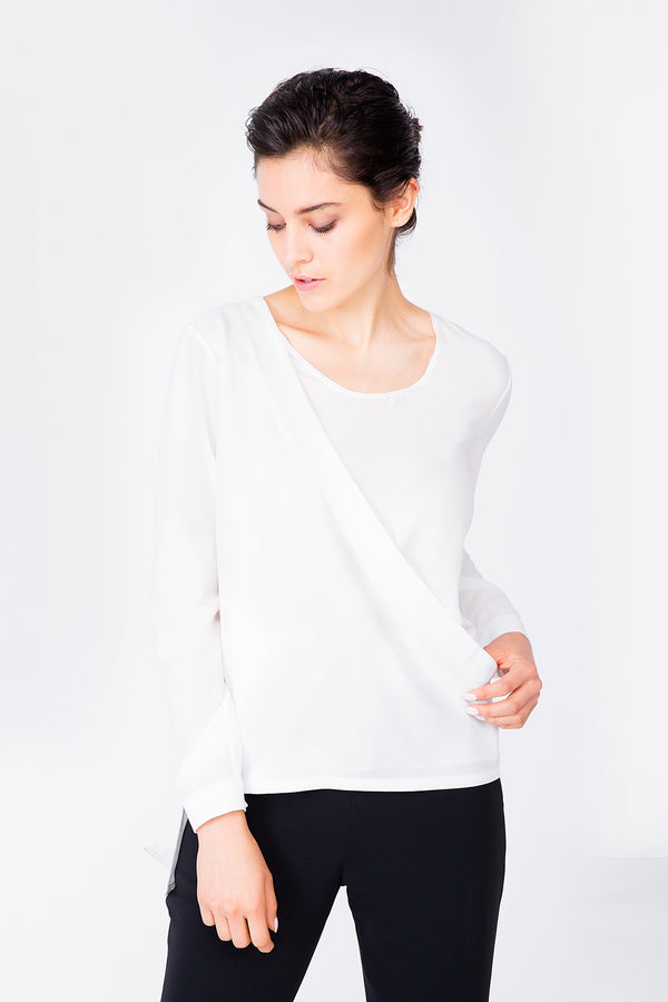 White Claremont Top