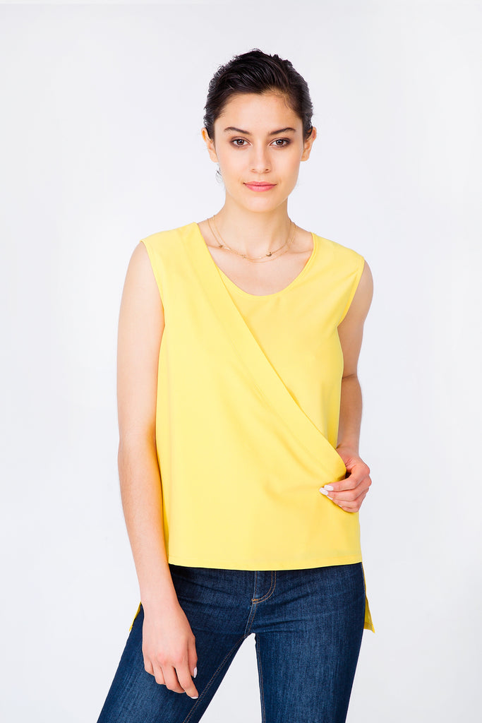 Yellow Portland Top