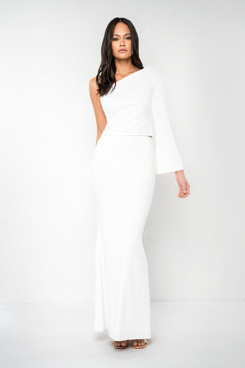 White Bradshaw Skirt