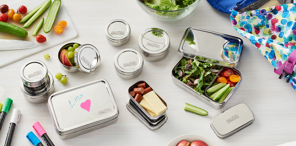 6 Reasons to Switch to Stainless Steel Lunch Containers