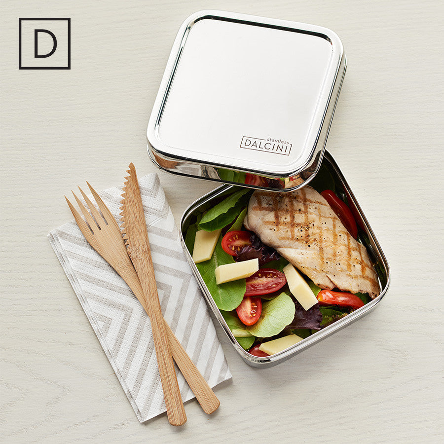 Sandwich Box, - DALCINI Stainless