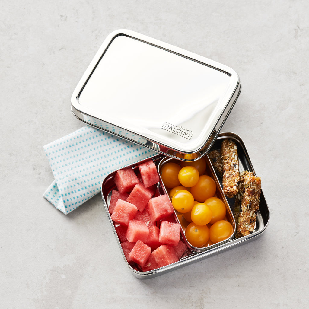 Stainless Steel Lunchbox 2-piece Combo